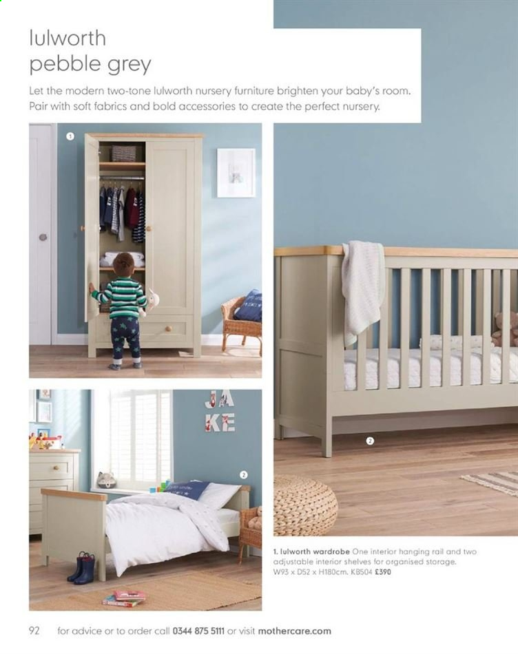 Mothercare catalogue . Page 92.
