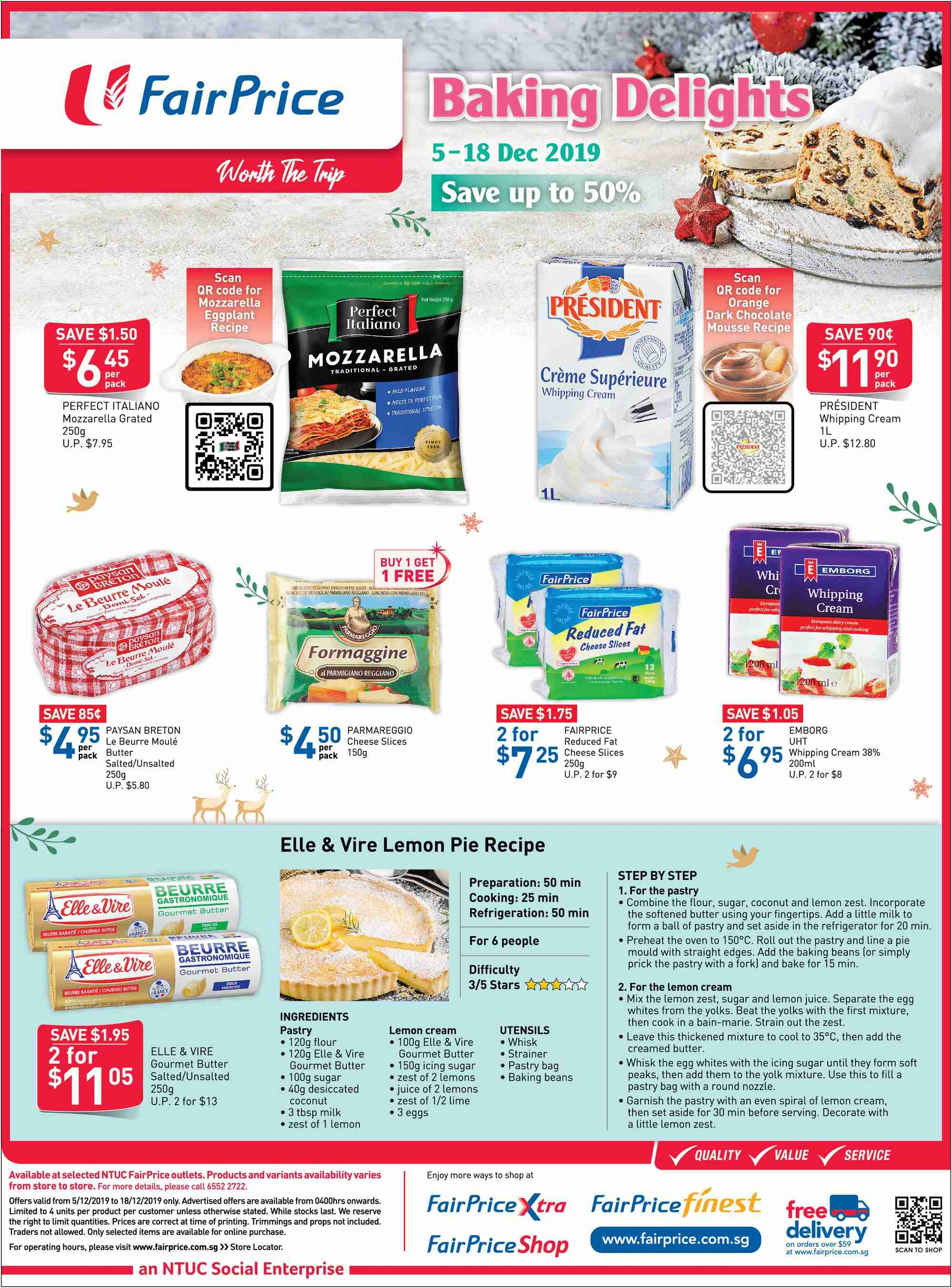 FairPrice catalogue  - 05.12.2019 - 18.12.2019. Page 3.
