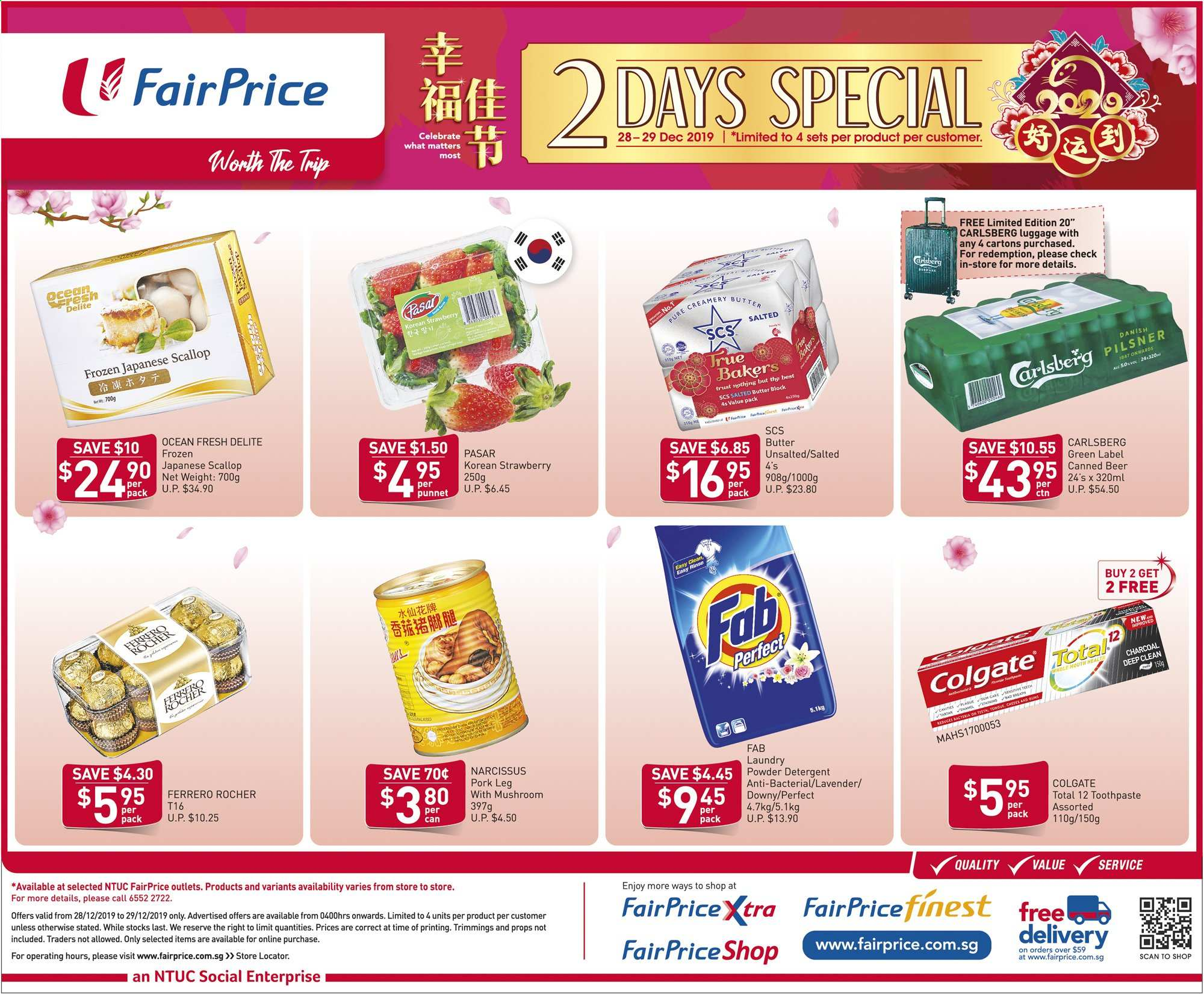 FairPrice catalogue  - 27.12.2019 - 29.12.2019. Page 2.