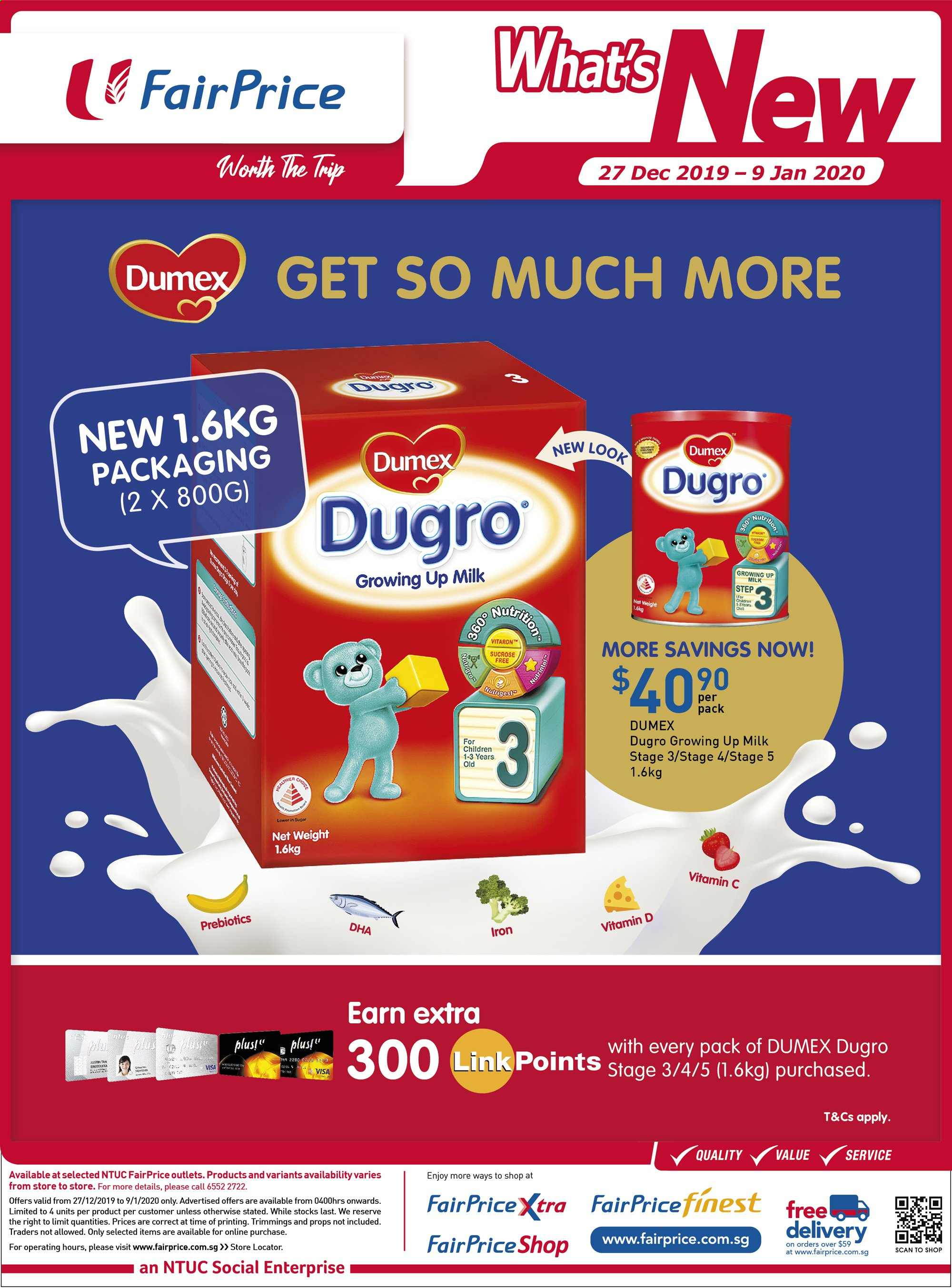 FairPrice catalogue  - 27.12.2019 - 09.01.2020. Page 7.