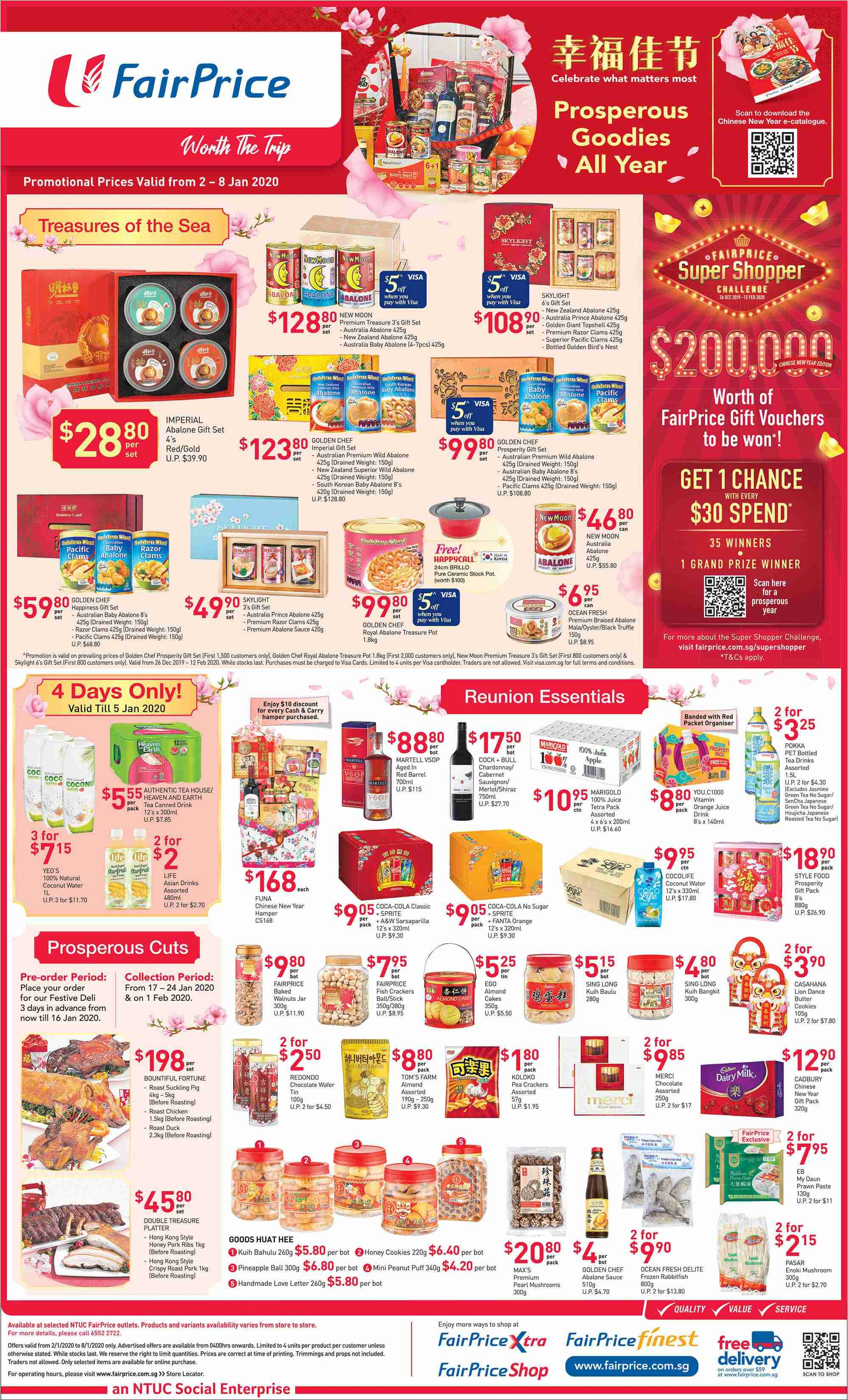 FairPrice catalogue  - 02.01.2020 - 08.01.2020. Page 2.