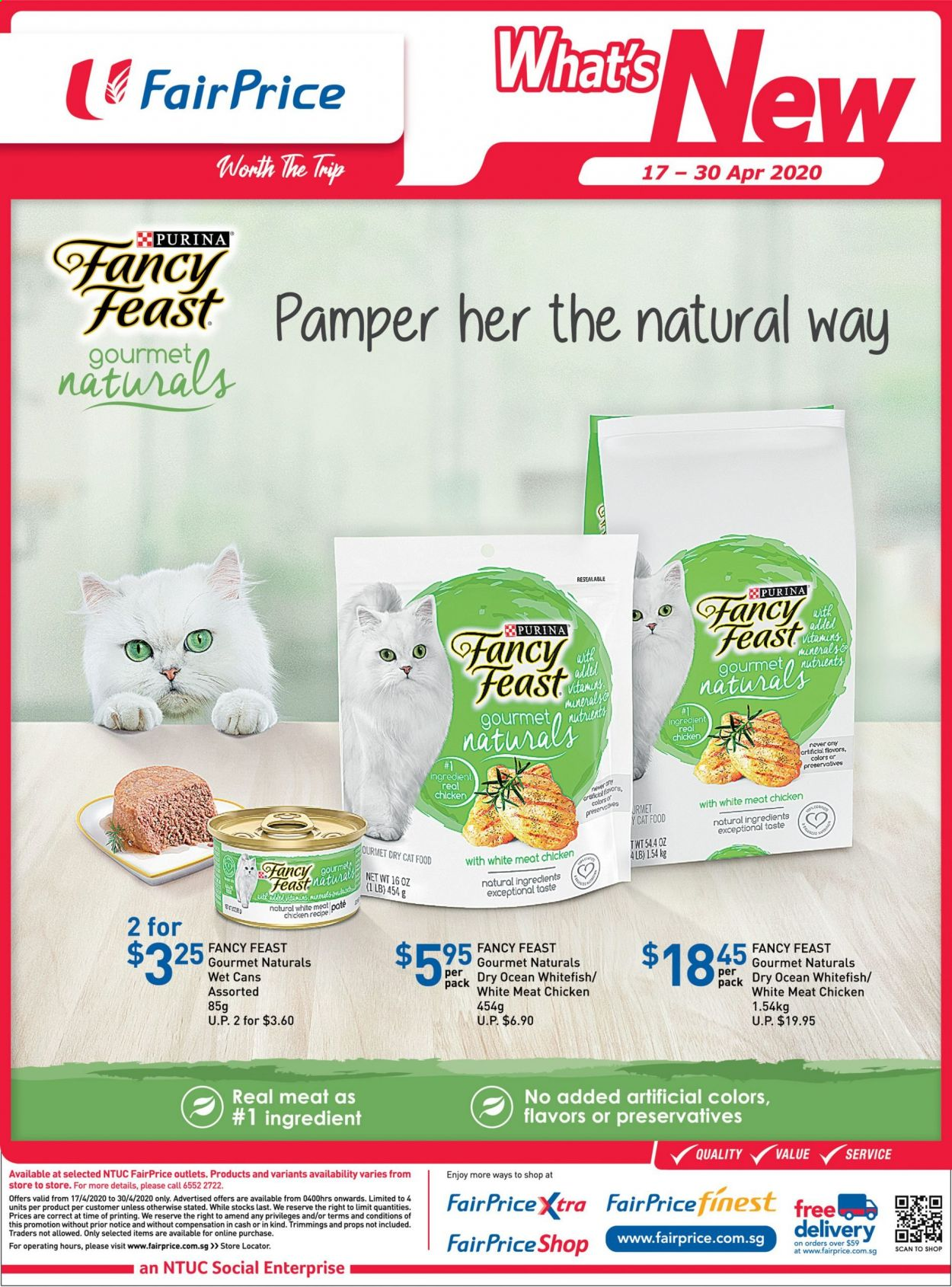 FairPrice catalogue  - 17.04.2020 - 30.04.2020. Page 3.