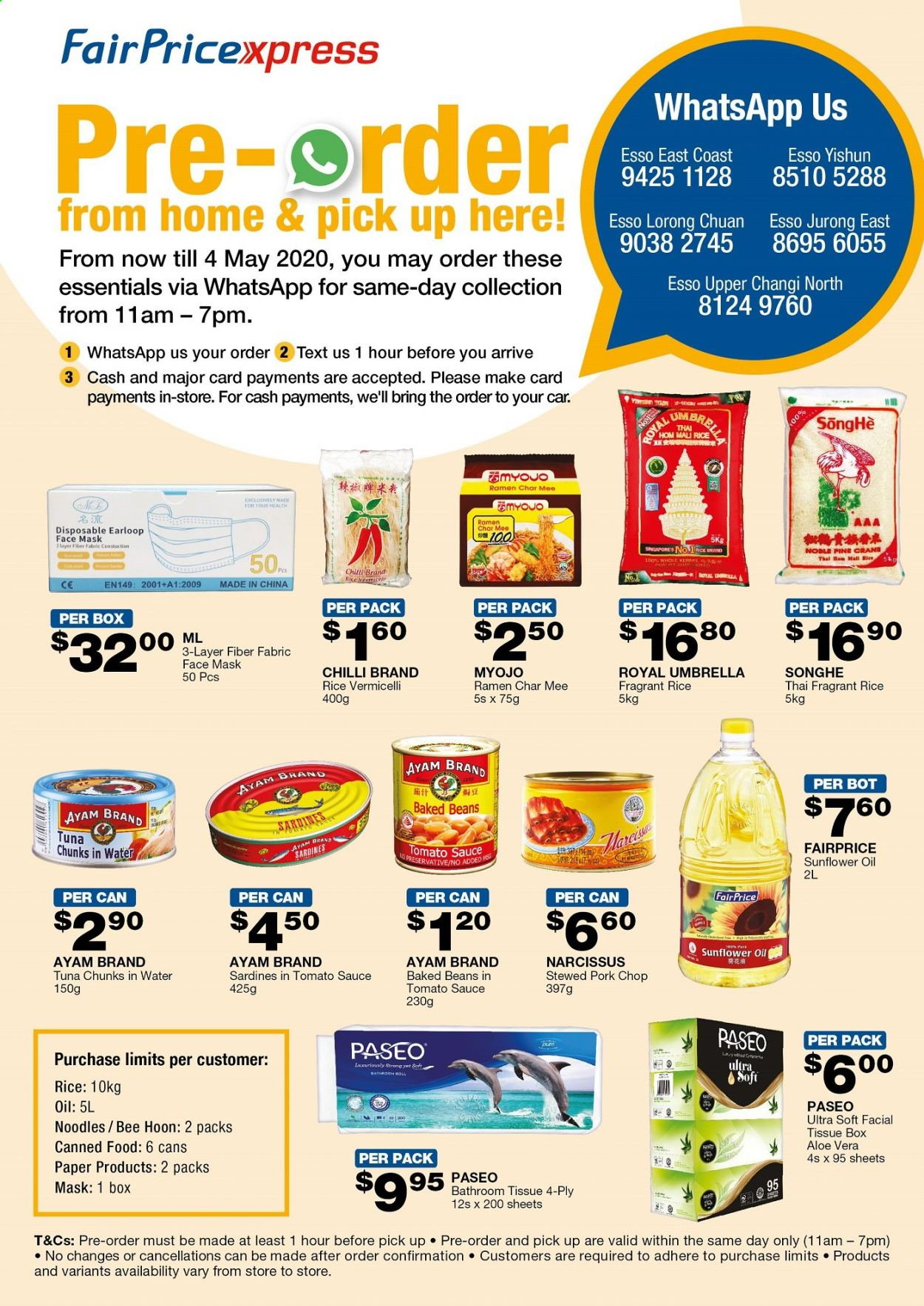 FairPrice catalogue  - 21.04.2020 - 04.05.2020. Page 1.
