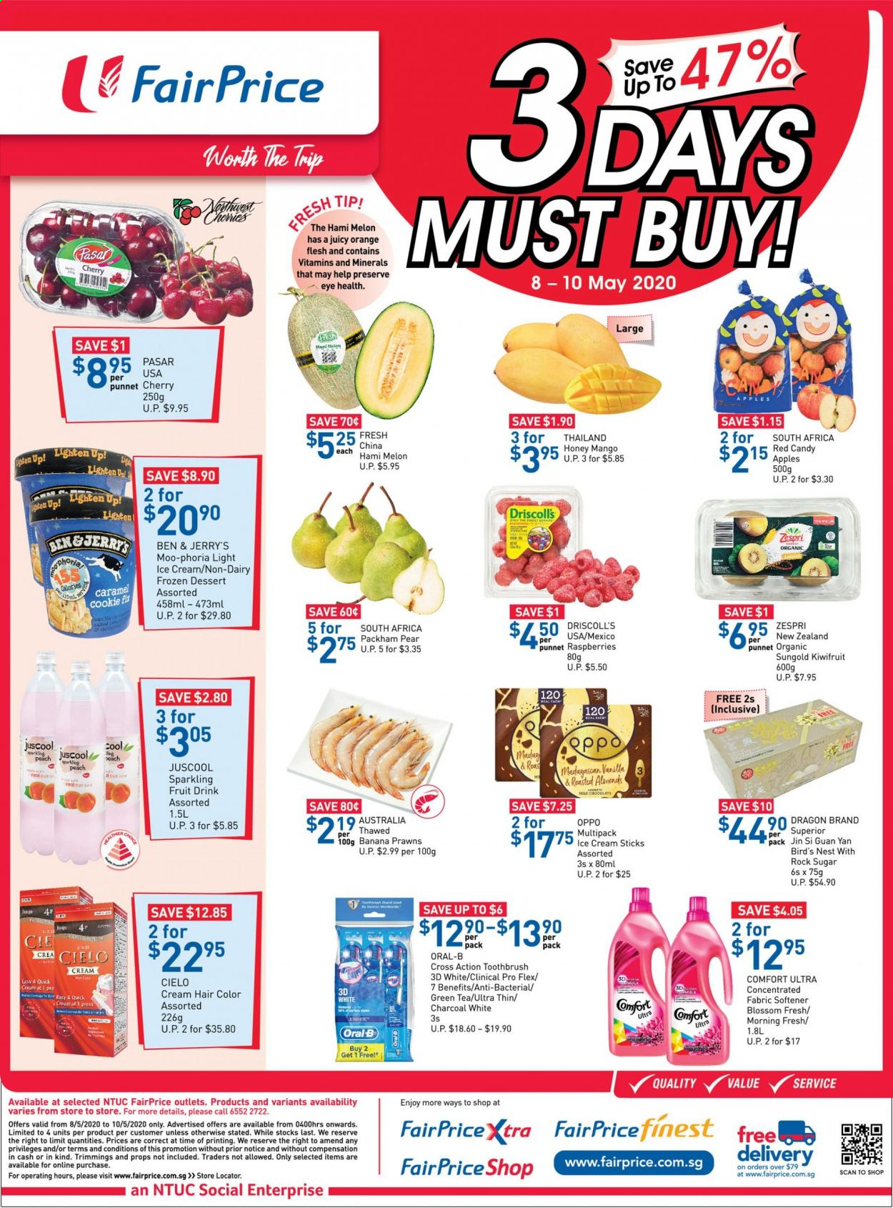 FairPrice catalogue  - 08.05.2020 - 10.05.2020. Page 1.