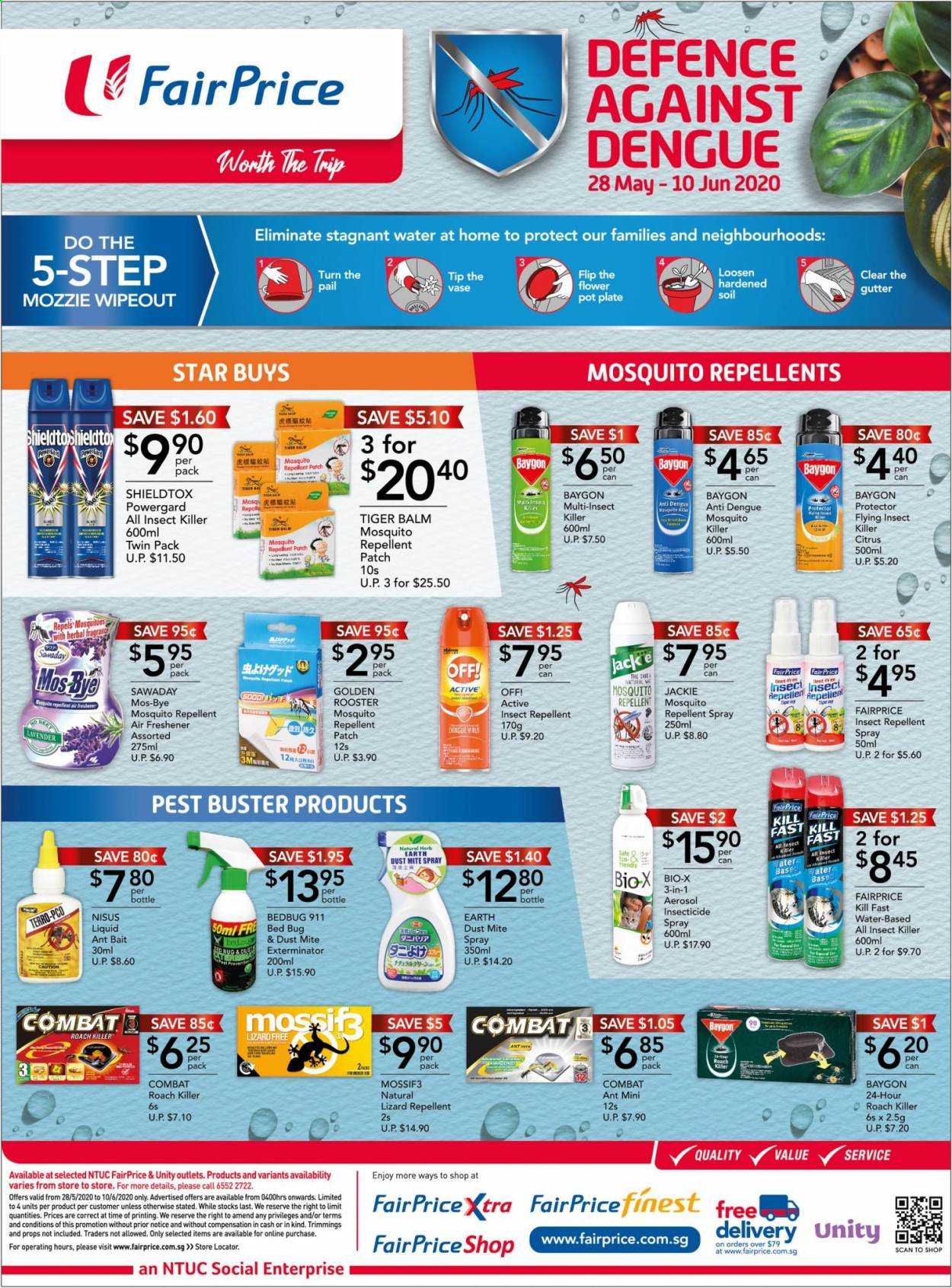 FairPrice catalogue  - 28.05.2020 - 10.06.2020. Page 3.