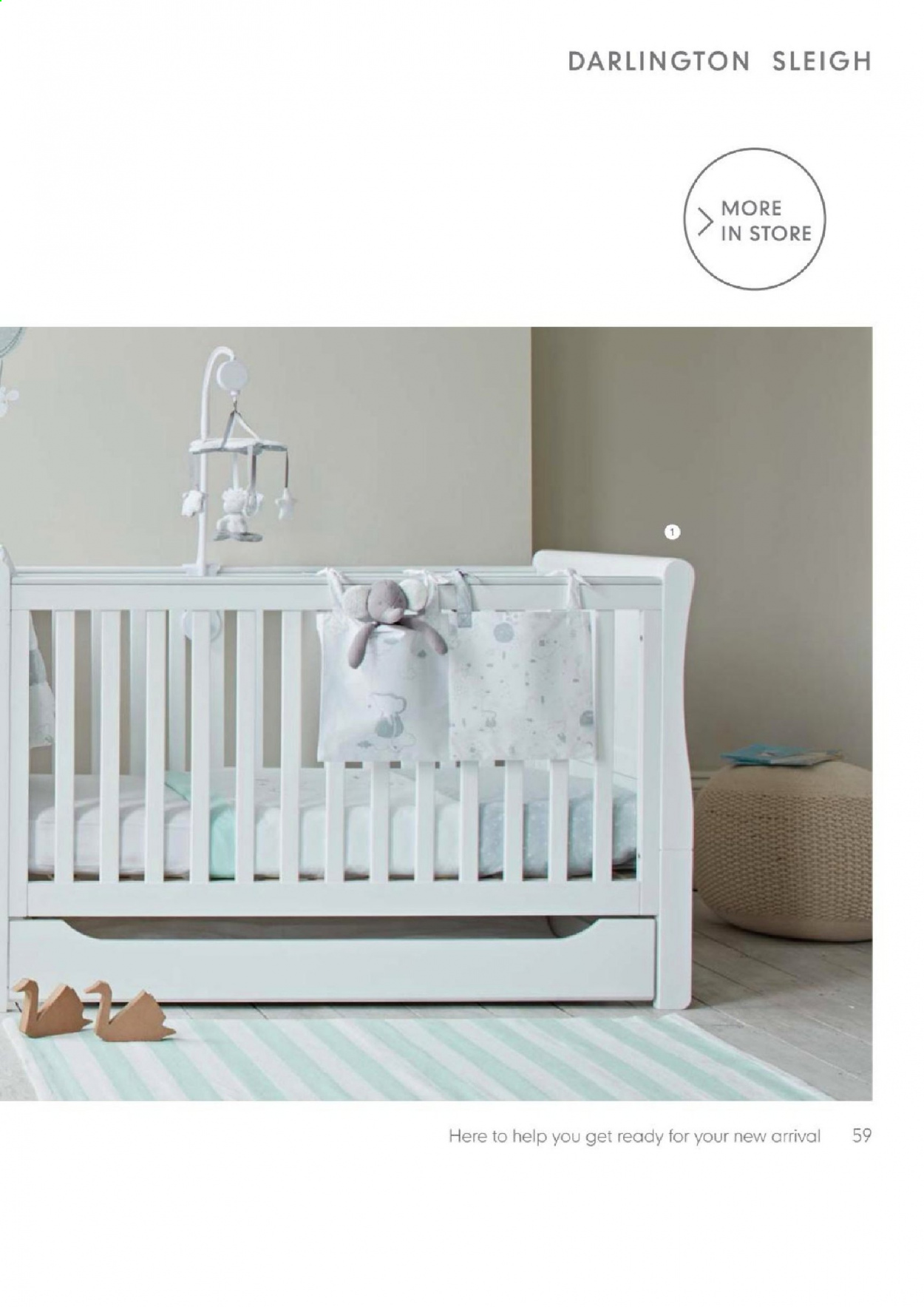 Mothercare catalogue . Page 59.