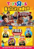 "Toys""R""Us catalogue  - 25.09.2020 - 02.11.2020."