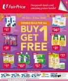 FairPrice catalogue  - 29.10.2020 - 04.11.2020.
