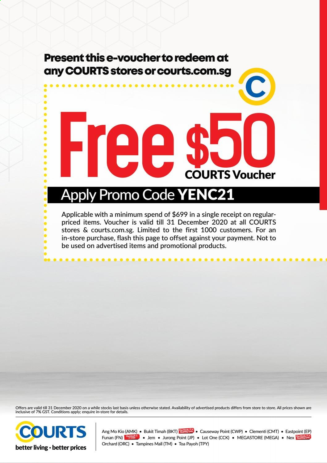 Courts catalogue  - 03.11.2020 - 31.01.2021. Page 26.
