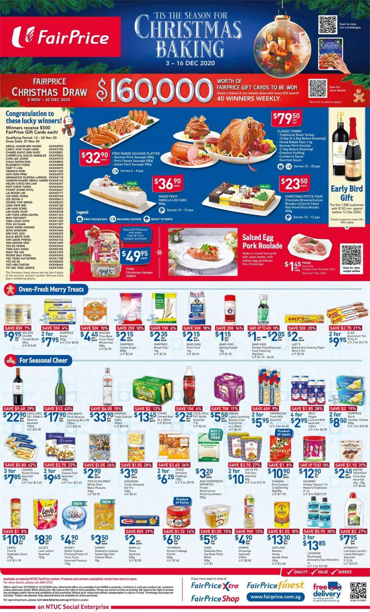 FairPrice catalogue  - 04.12.2020 - 06.12.2020. Page 4.