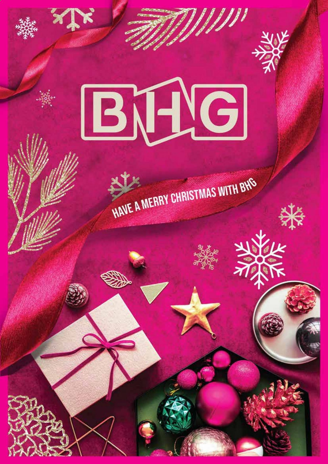 BHG catalogue . Page 1.