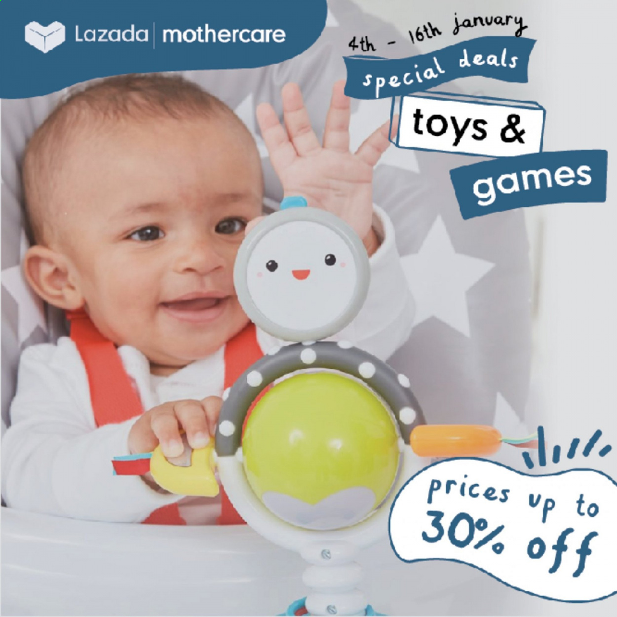 Mothercare catalogue  - 04.01.2021 - 16.01.2021. Page 1.