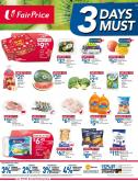 FairPrice catalogue  - 22.01.2021 - 24.01.2021.