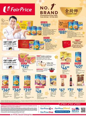 FairPrice catalogue  - 28.01.2021 - 10.02.2021.