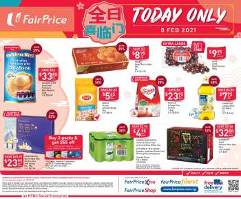 FairPrice catalogue  - 08.02.2021 - 08.02.2021.