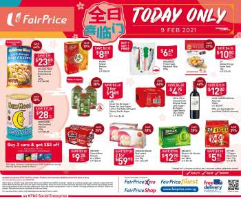 FairPrice catalogue  - 09.02.2021 - 09.02.2021.