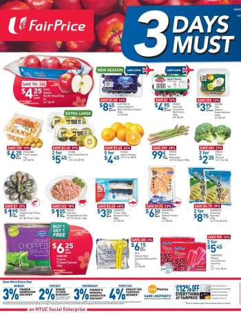 FairPrice catalogue  - 19.02.2021 - 21.02.2021.