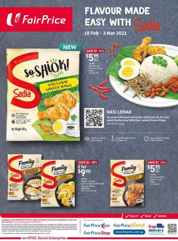 FairPrice catalogue  - 18.02.2021 - 03.03.2021.