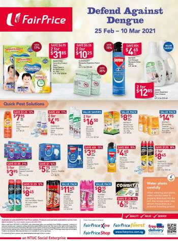FairPrice catalogue  - 25.02.2021 - 10.03.2021.