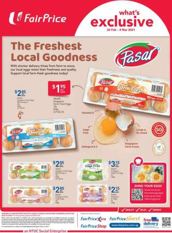 FairPrice catalogue  - 26.02.2021 - 04.03.2021.