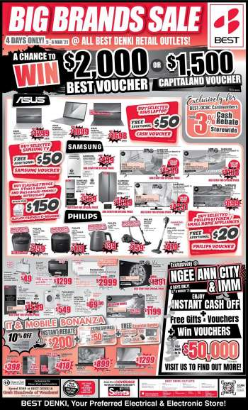Best Denki catalogue  - 05.03.2021 - 08.03.2021.
