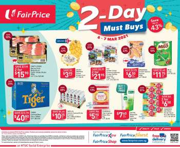 FairPrice catalogue  - 06.03.2021 - 07.03.2021.