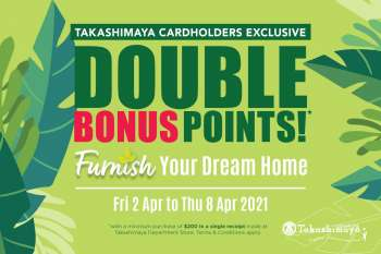 Takashimaya catalogue  - 02.04.2021 - 08.04.2021.