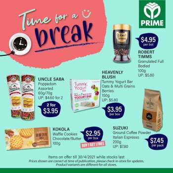 Prime Supermarket catalogue  - 08.04.2021 - 30.04.2021.