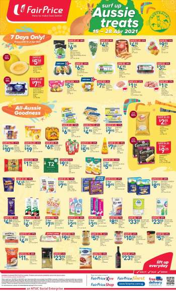 FairPrice catalogue  - 15.04.2021 - 28.04.2021.