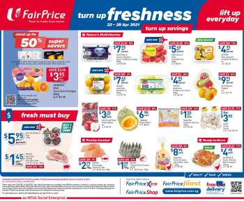FairPrice catalogue  - 22.04.2021 - 28.04.2021.