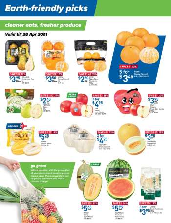 FairPrice catalogue  - 22.04.2021 - 05.05.2021.