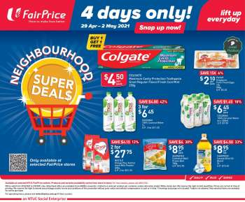 FairPrice catalogue  - 29.04.2021 - 02.05.2021.