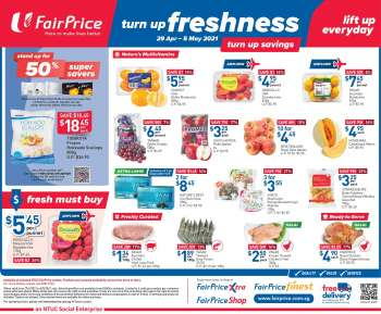 FairPrice catalogue  - 29.04.2021 - 05.05.2021.