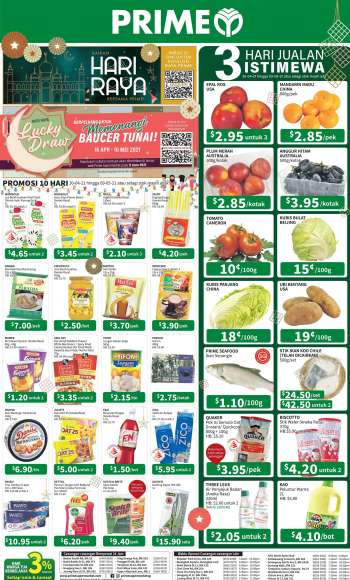Prime Supermarket catalogue  - 30.04.2021 - 09.05.2021.