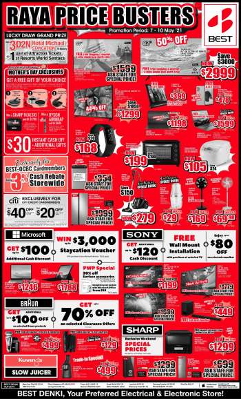 Best Denki catalogue  - 07.05.2021 - 10.05.2021.