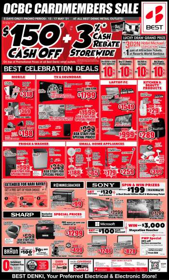Best Denki catalogue  - 13.05.2021 - 17.05.2021.