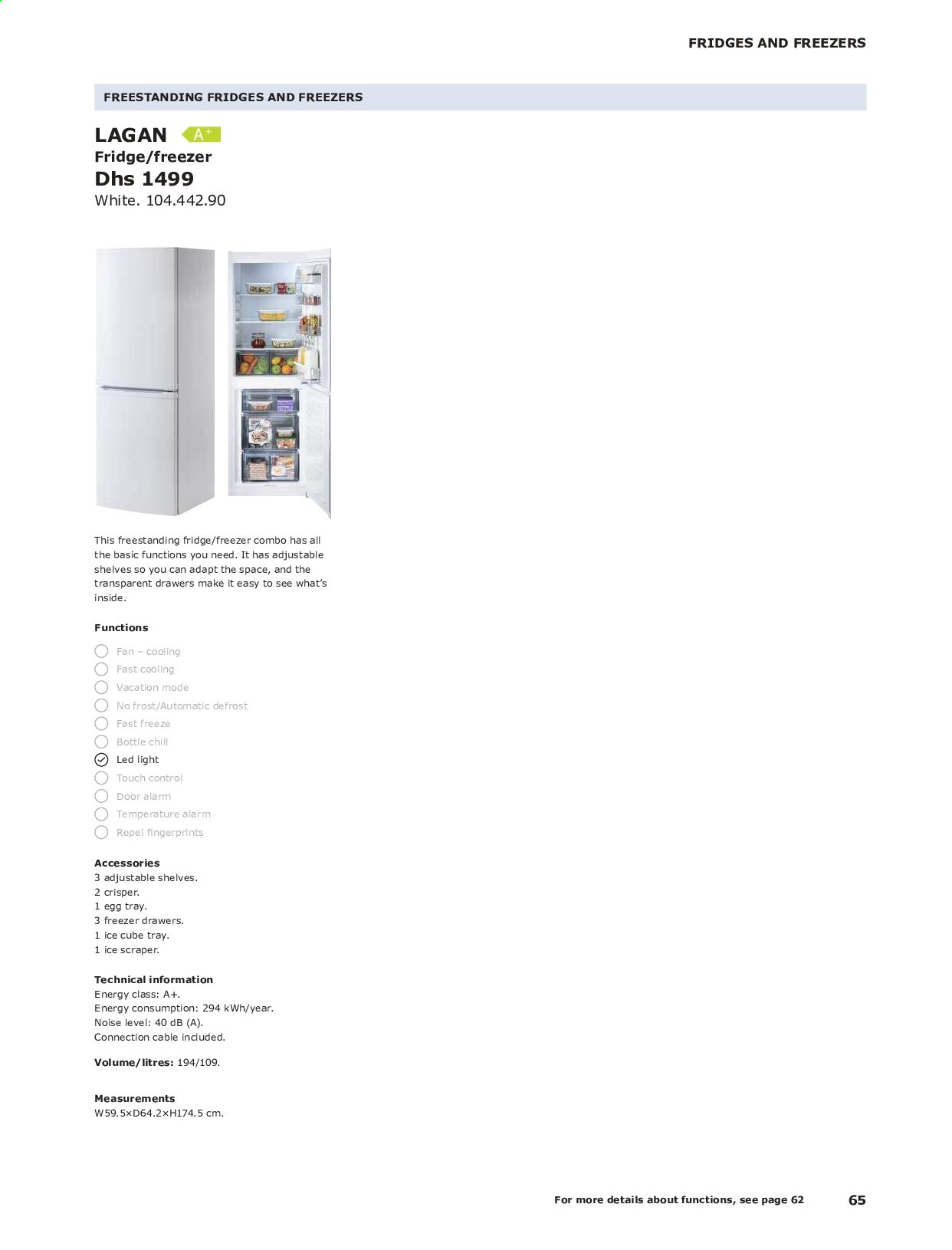 <retailer> - <MM/DD/YYYY - MM/DD/YYYY> - Sales products - ,<products from flyers>. Page 65