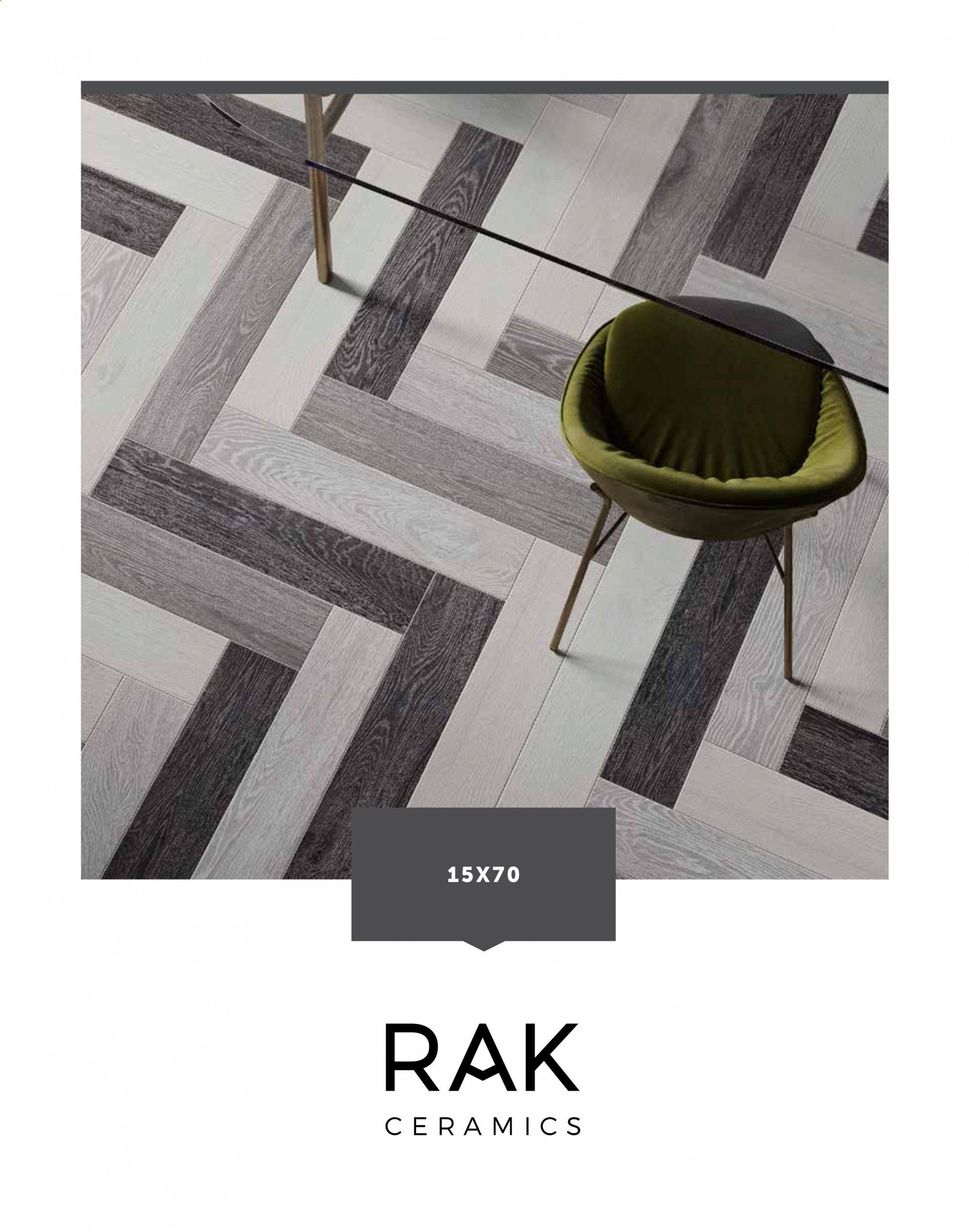 RAK Ceramics offer . Page 1.