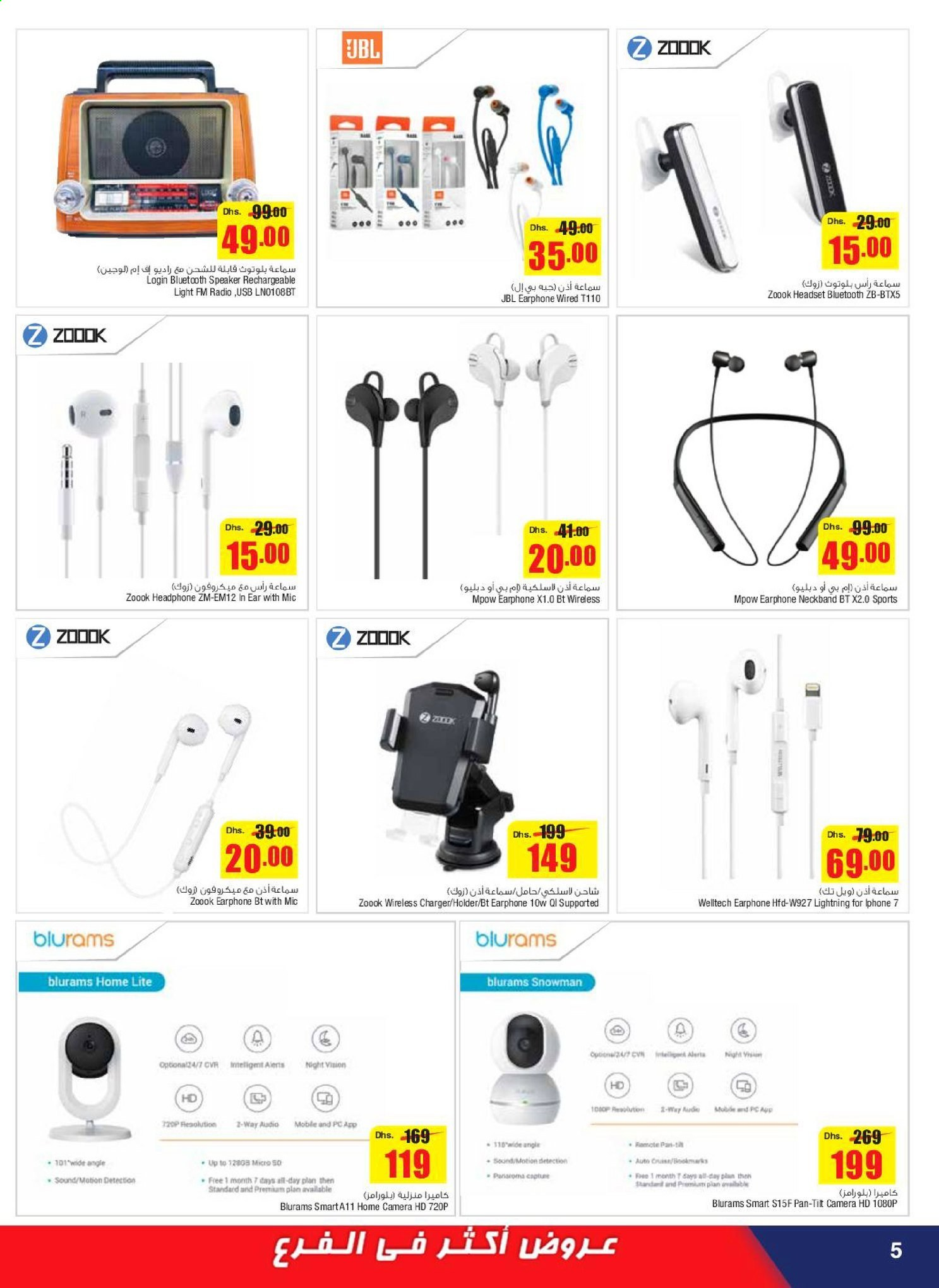 <retailer> - <MM/DD/YYYY - MM/DD/YYYY> - Sales products - ,<products from flyers>. Page 5