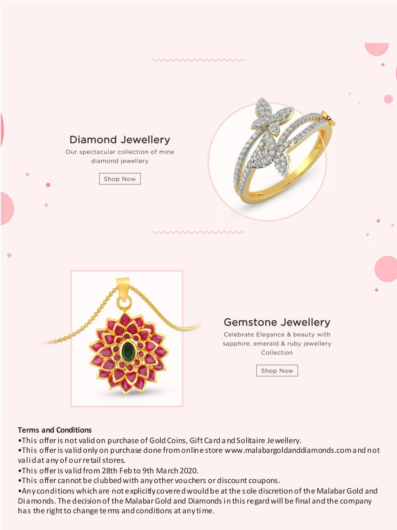 Malabar Gold & Diamonds offer  - 28/02/2020 - 09/03/2020. Page 2.