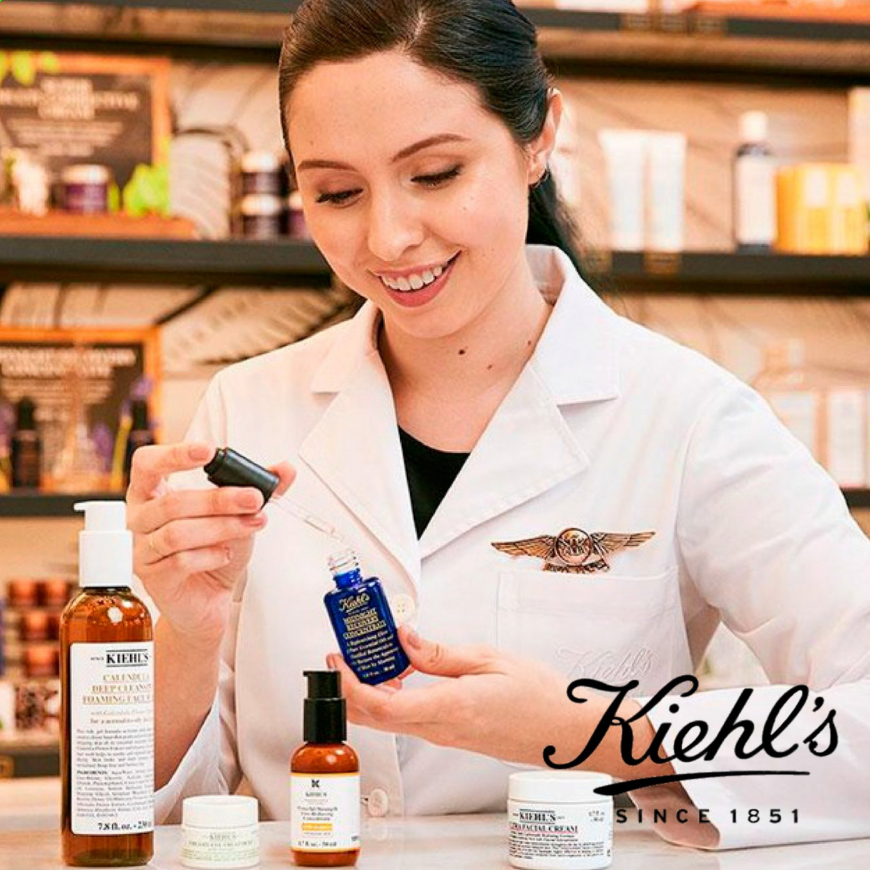 Kiehl's offer . Page 1.
