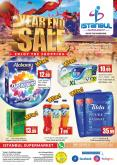 Istanbul Supermarket offer  - 28/12/2020 - 29/12/2020.