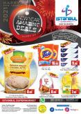 Istanbul Supermarket offer  - 31/12/2020 - 02/01/2021.