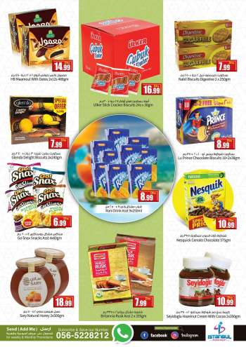 Istanbul Supermarket offer  - 01/02/2021 - 02/02/2021.