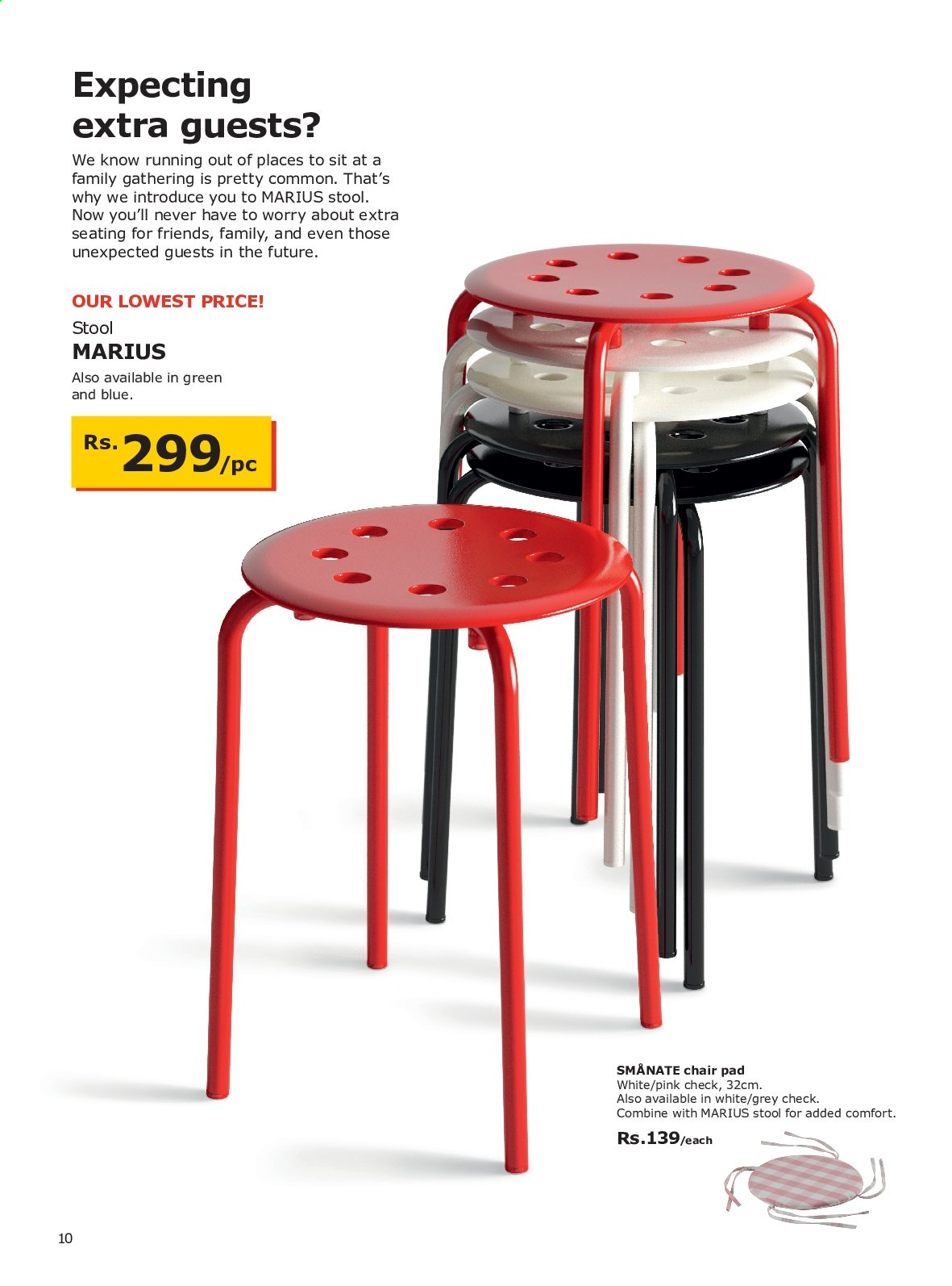 IKEA offer . Page 10.