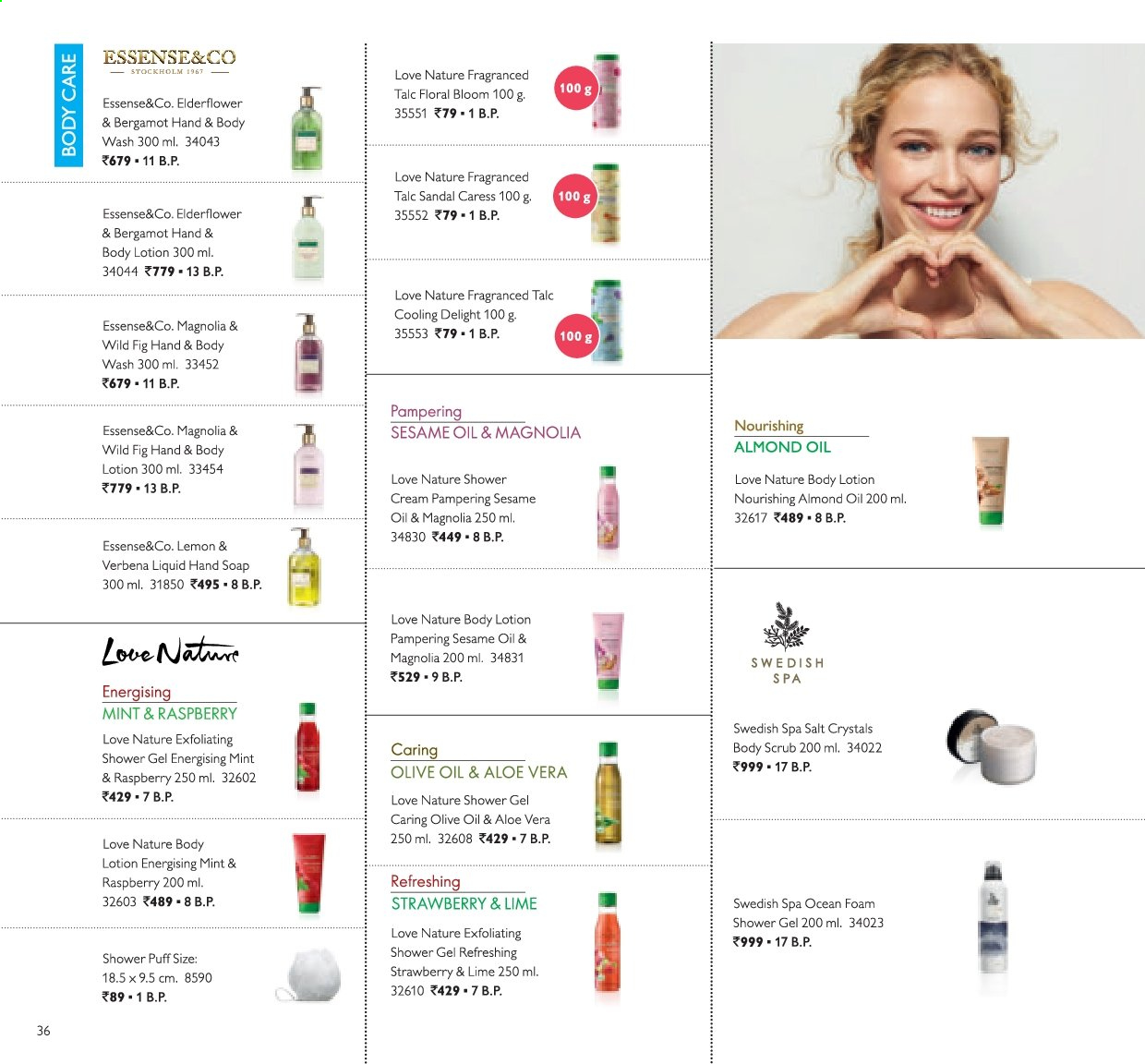 Oriflame offer  - 01.12.2019 - 31.12.2019. Page 36.