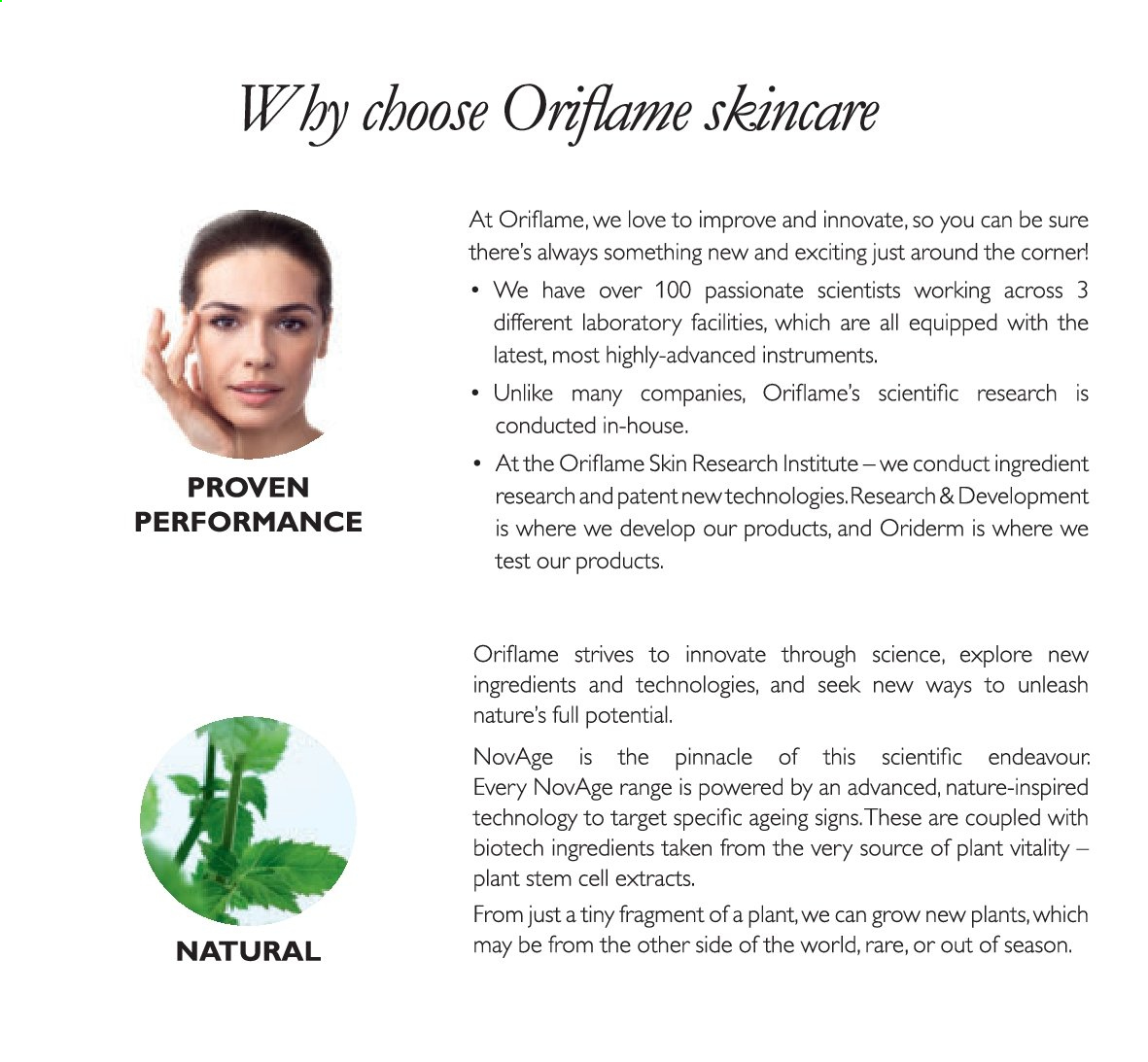 Oriflame offer  - 01.12.2019 - 31.12.2019. Page 54.