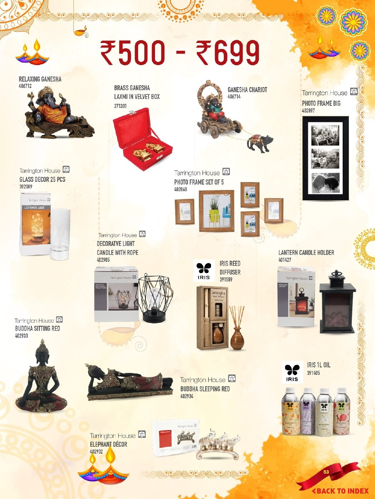 <retailer> - <MM.DD.YYYY - MM.DD.YYYY> - Sales products - ,<products from flyers>. Page 53.