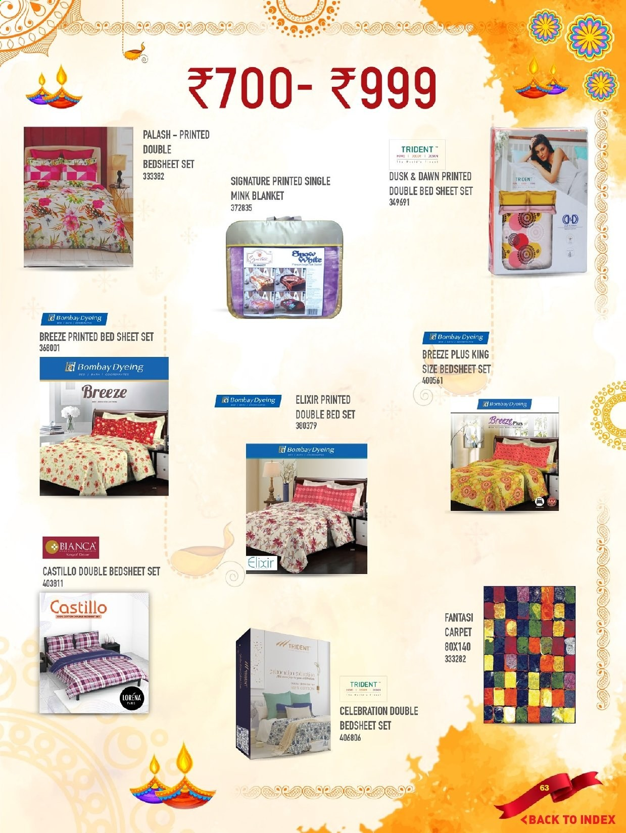<retailer> - <MM.DD.YYYY - MM.DD.YYYY> - Sales products - ,<products from flyers>. Page 63.