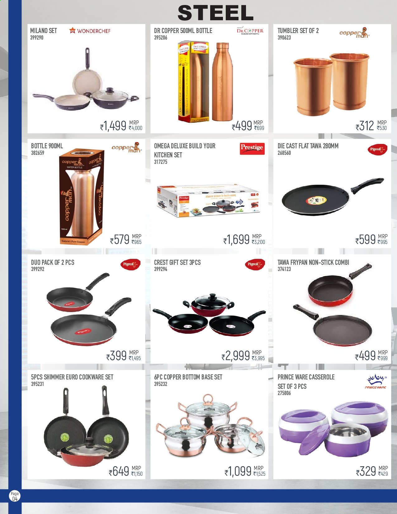<retailer> - <MM.DD.YYYY - MM.DD.YYYY> - Sales products - ,<products from flyers>. Page 4.